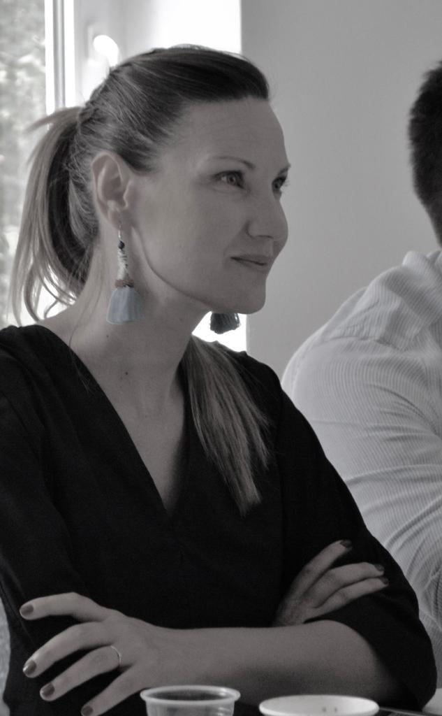 Melania Medeleanu, la cursurile de public speaking