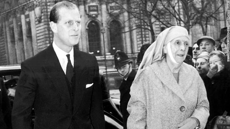 Prințul Philip și Prințesa Alice de Battenberg