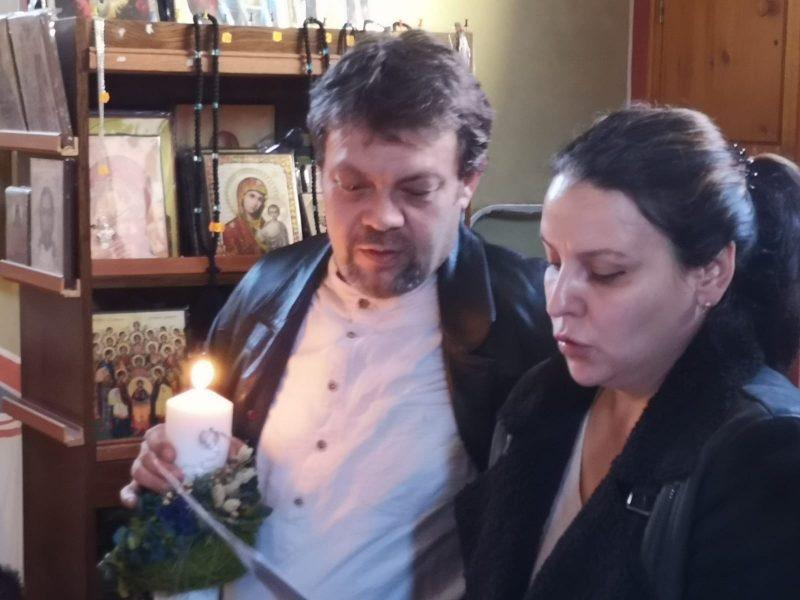 Mircea Pascu alături de soția lui