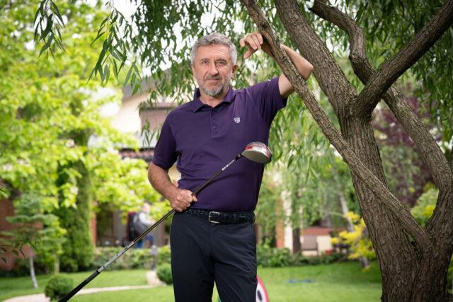 Florin Segărceanu, campionul României la tenis de câmp, azi mentor pentru copiii care vor să facă performanță în golf. Cum arată povestea copilului crescut pe terenul de tenis pentru care a cântat de nenumărate ori imnul țării?