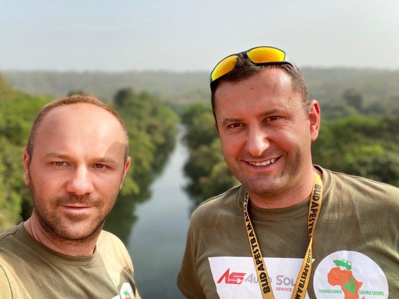 Cătălin Priscorniță și Albert Deak, echipa Transilvania4 Sierra Leone
