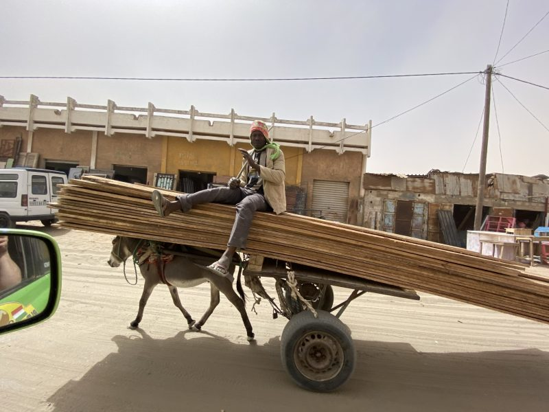 Mijloc de transport în Africa