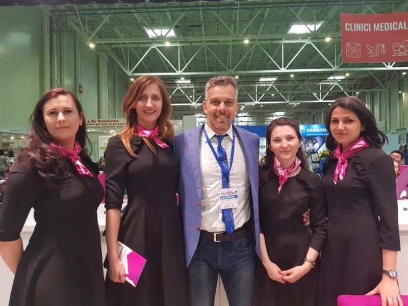 Bogdan Ivănescu alături de echipa Stem Sure