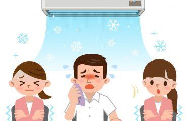 boli provocate de aerul condiționat
