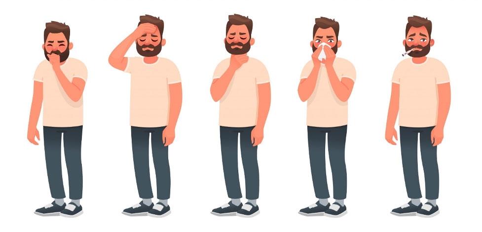 simptomele COVID pe zile
