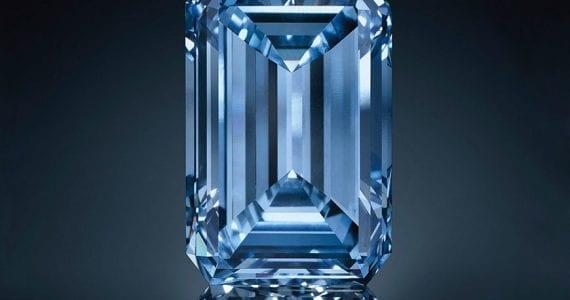 Cea mai scumpă piatră din lume diamant albastru