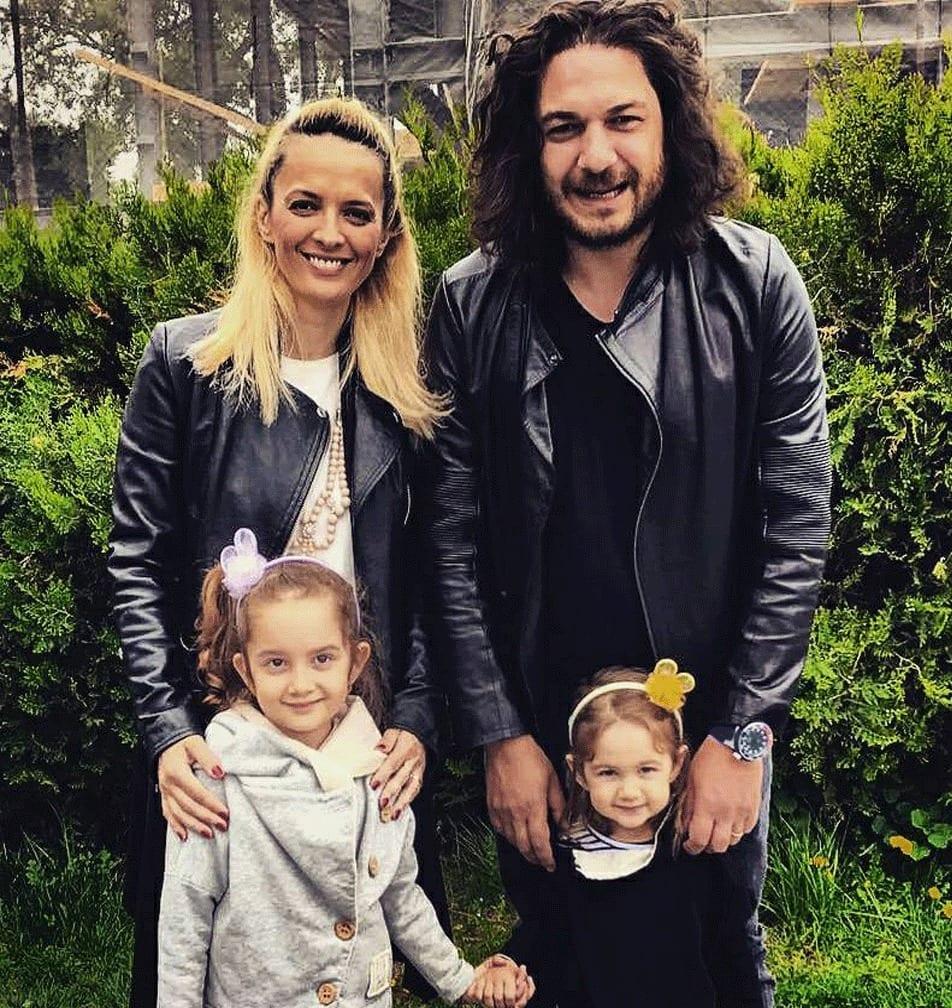 Florin Dumitrescu si familia sa