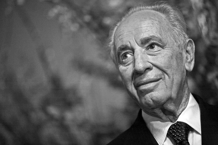 Shimon Peres. Foto: Hepta